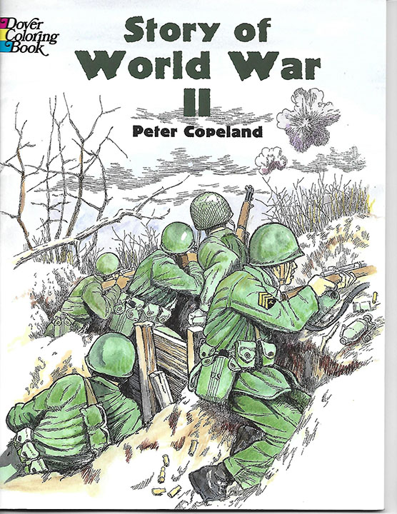 Story of WWII Coloring Book