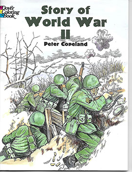Coloring Book: World War II