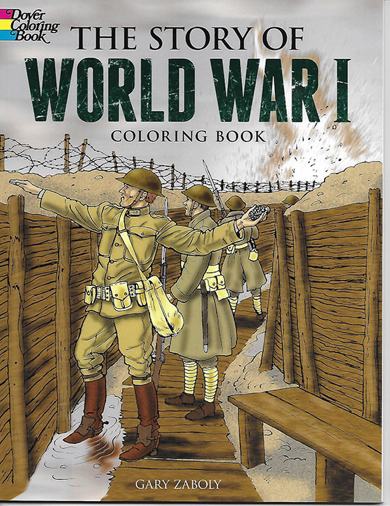 Story of World War I  Coloring Book