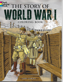 Coloring Book: Story of World War I