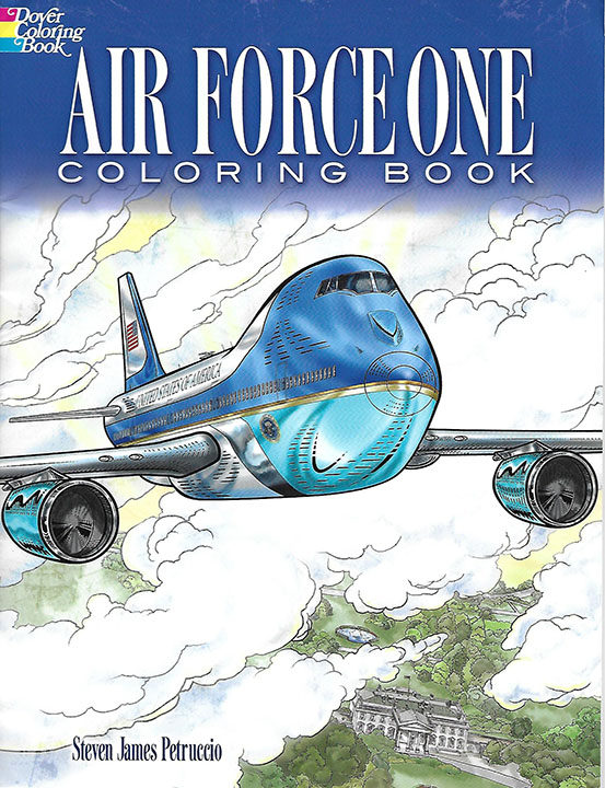 Air Force One Coloring Book