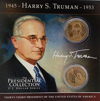 HST Presidential Coin
