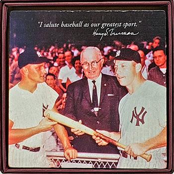 HST & Yankee Greats Coaster
