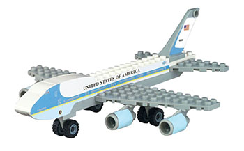 Air Force One Construction Set ***