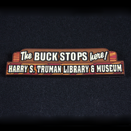 The Buck Stops Here Magnet
