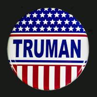 Harry S. Truman Campaign Button
