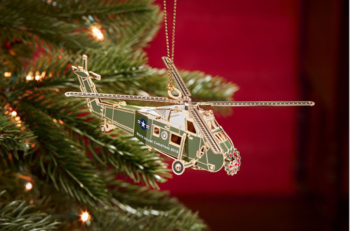 2019 WH Christmas Ornament