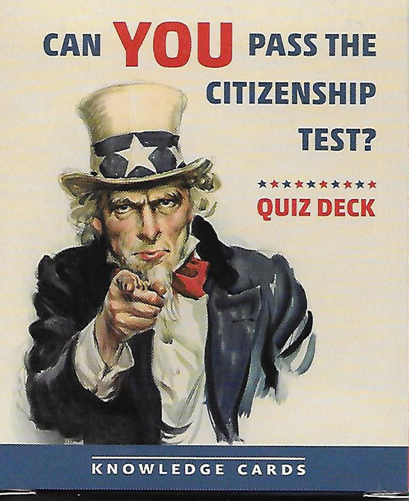 Can YOU Pass the Citizenship Test? Knowledge Cards