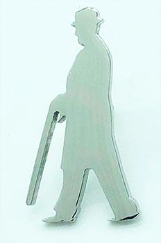 Truman Silhouette Tie Tac