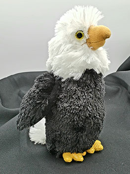 "Eagle ""Liberty""  8"" Plush"