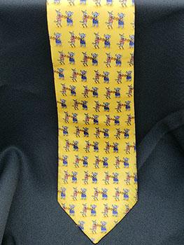 Necktie: Elephant & Donkey Boxing