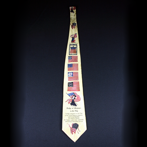 Pledge of Allegiance Tie
