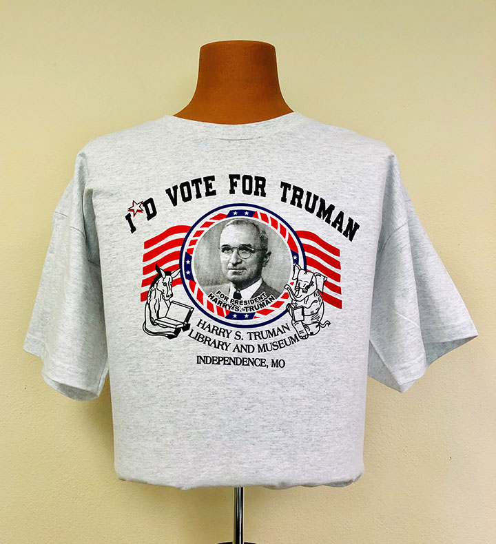 I'd Vote for Truman T-shirt