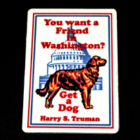 Friend in Washington Magnet