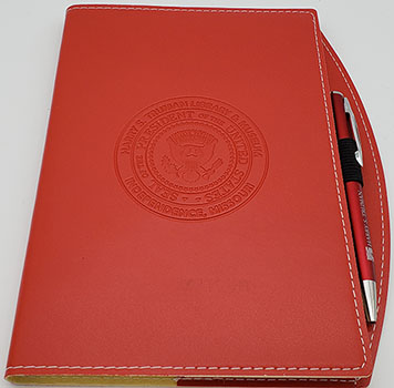 Red Journal w/pen