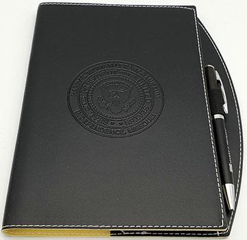 Journal: Black w/ pen