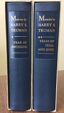 Memoirs by Harry S. Truman (leather)