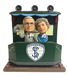 Harry & Bess Train Bobblehead